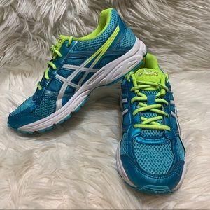 Asics Gel Contend 4 Running Shoe Women Size 5 Blue